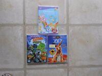 Children's DVD's Bundle of 3 (6)