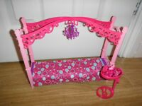 Barbie Glam Bedroom Furniture New Condition