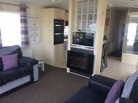 Crimdon Dene 8 berth platinum caravan for rent (right next to entertainment complex)