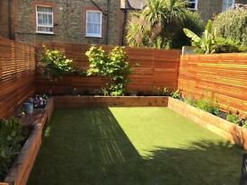 Garden maintenance landscaping