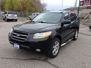 2008 Hyundai Santa Fe Limited  AWD Leather-Roof