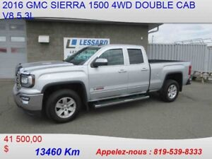 2016 GMC SIERRA 1500 4WD DOUBLE CAB LT COMME NEUF