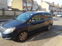Vauxhall Zafira 1.6 (PCO) 2012