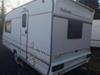 1999 2 berth 460 end bathroom touring caravan