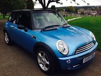 """BEAUTIFUL LOOKING """"""""BMW MINI COOPER 1.6 HALF LEATHER NEW CLUTCH FITTED"""