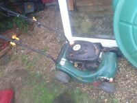 FAULTY SPARES REPAIRS PETROL LAWNMOWER, CAN DELIVER, B AND Q