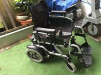 Van Os Travelux Corrado Electric Powerchair EXTRA LARGE ,free local delivery