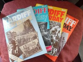 Various Cardiff Yesterday hardback books