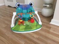Fisher Price sit me up Frog Seat