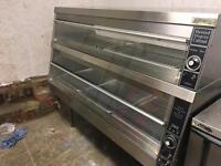 HCW5 Fried Chicken Display Warmer Cabinet