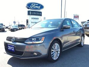 2012 Volkswagen Jetta Highline, 2.5L,|LEATHER|SUNROOF|