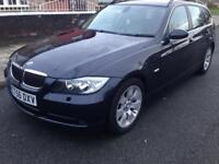 2007 56reg BMW 330d SE Estate Full Leather Manual
