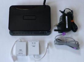 Netgear N150 ADSL2+ Wireless Router Modem
