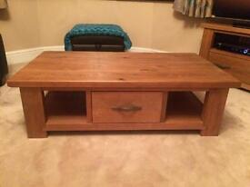 Next Hartford range solid pine coffee table