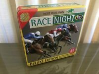 Race Night Deluxe Edition DVD Game (48 Races) By Cheatwell Games