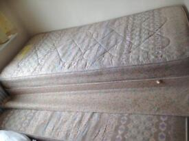 Used Single bed Divan