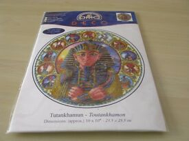 New : DMC Deco Cross stitch Kit Tutankhamum