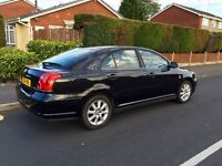 Toyota Avensis, 2004, Black, 2.0 Diesel, 131k Low Miles, 10 MONTHS MOT.