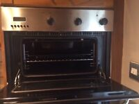 Quick Sale-Fan Assisted Grill and Oven and Gad Cooker Top