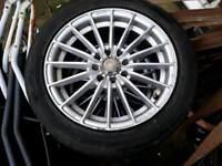"""15"""" muli spoke alloys alloy wheels"""