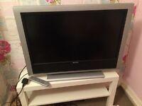 LCD flat screen tv & free Digital box