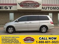 2006 Honda Odyssey Silver EX-L, Leather Heated Seats, Power Sunr