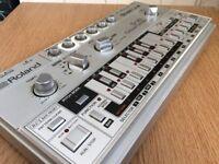 Roland TB-303 with original manual and original case (Flight-cased) & SBX-1 **BARGAIN!**