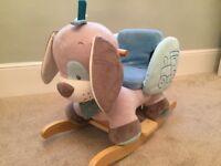 Nattou Rocker - Padded Baby Toddler Rocking Ride On Toy (Cyril The Dog)
