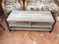 Tv stand and matching side tables