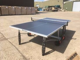 Grey Cornilleau Sport 250S Crossover Outdoor Table Tennis Table (Very Good Condition - Assembled)