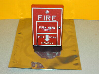 Siemens Msi-20b Fire Alarm Pull Station 500-893081 Free Fedex 2-day Ship
