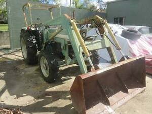 Farmliner 445DT 45HP Tractor with Front Bucket & Post-hole Digger Ormeau Gold Coast North Preview