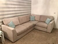 Immaculate corner sofa & armchair DFS