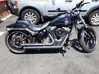 Harley Davidson fxb softail breakout 103