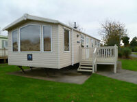 STATIC CARAVAN for sale, 3BED, DOUBLE GLAZING,CENTRAL HEATING, SITED AT FAR GRANGE, near HORNSEA