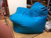 Bean bag chair - kids - blue