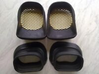 gsxr srad 600 750 ram air tube\duct rubber mounts L&R, full set front and rear. 1996-2000