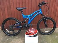 Boys mountain bike 20""