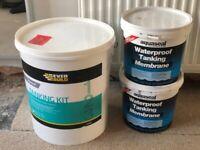 Everbuild Aquaseal Tanking Kit Waterproof Wet Room System