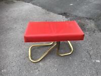 Retro footstool