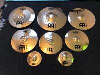 Meinl Classic Custom Cymbals - Like New