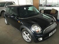 2008 MINI COOPER 1.6 VERY LOW 49K FULL SERVICE HISTORY UPTO 41437 MOT FEB 2017 FULL LEATHER PX SWAP