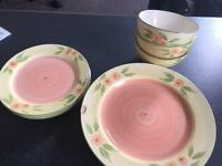 Dinner set, plates, bowls