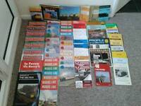 Various Railway Memorabilia 80's Books & Magazines