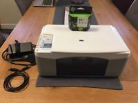 HP F380 White All-in-One Printer with NEW ink!
