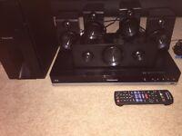 Panasonic bluray surround system 5.1