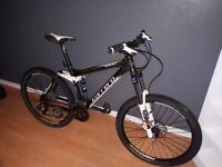 SWAP carerra banshee X mountain bike