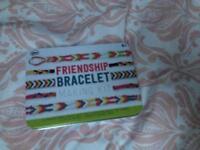 Friendship bracelet making kit