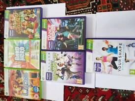 Xbox 360 games Excellent condition