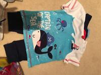 Range of baby/toddler boys clothes